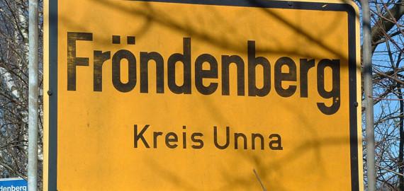Fröndenberg Ortsschild